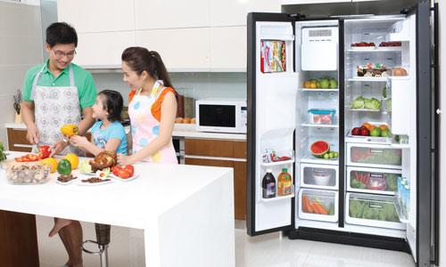 tiết kiệm điện khi dùng tủ lạnh